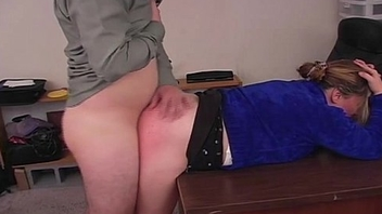 Spank That Amateur BBW Ass