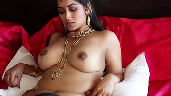 Unused and beautiful Indian babe Maya Rati yon pink saree stripteases