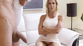 Blonde mom nearly big tits has good XXX time nearly son who is a sleepwalker