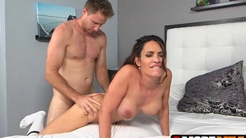 MILF Aleksandra Summers has her pussy screwed and get that person juice
